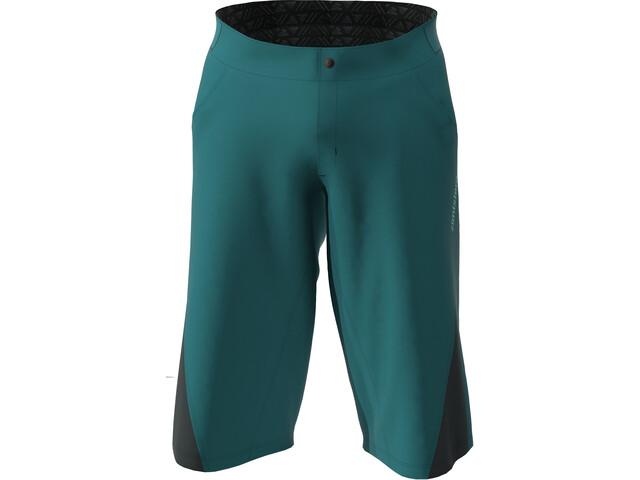 Zimtstern StarFlowz Shorts Heren, pacific green/black